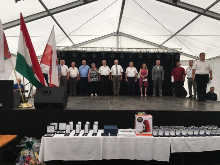 Viszákon ünnepeltek a Vas megyei polgárőrök
