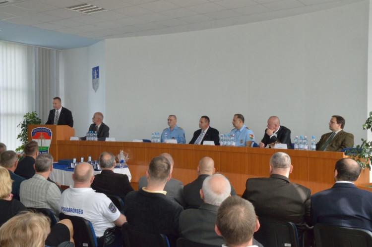 Vas Megyei Polgárőr Szövetség Küldöttgyűlése 2017