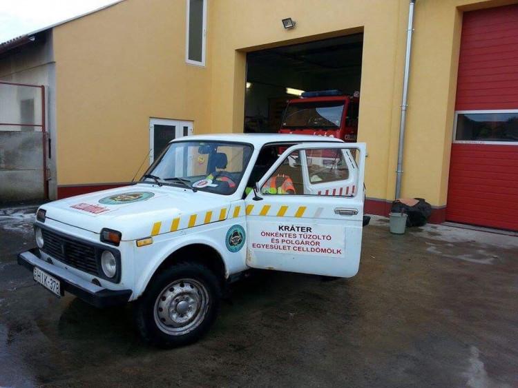 Sikeres adománygyűjtést rendezett a Kráter Önkéntes Tűzoltó és Polgárőr Egyesület