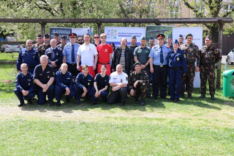 Katasztrófavédelmi ifjúsági Verseny és Rendvédelmi Nap Szombathelyen
