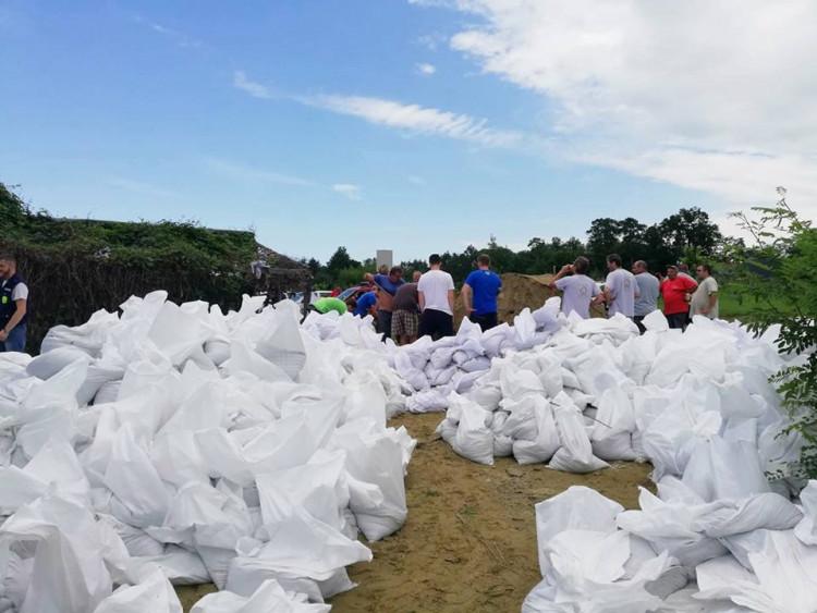 Katasztrófavédelem: Lezárult a védekezés a Vadása tónál