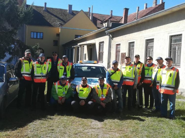 Kőszegi Szüret polgárőrökkel