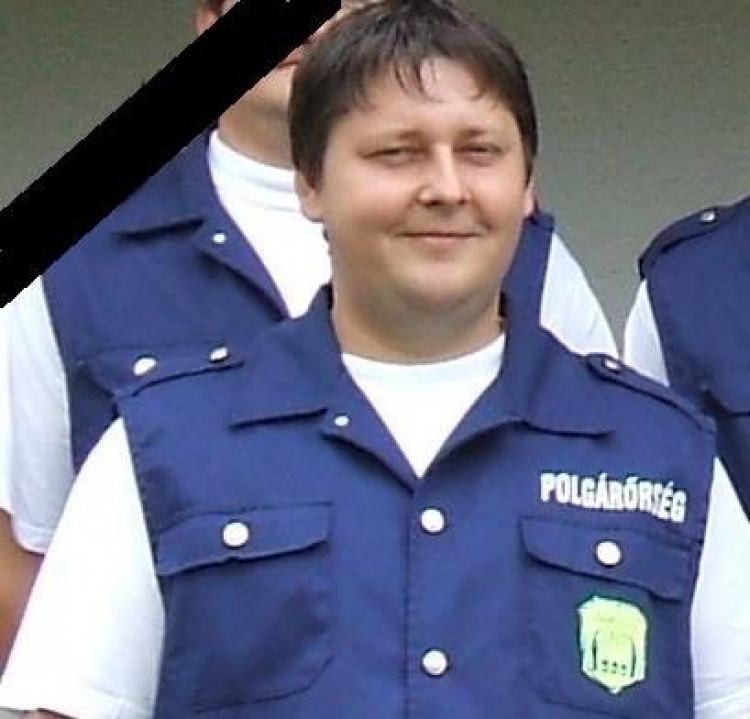 Elhunyt Cseke Tamás polgárőr