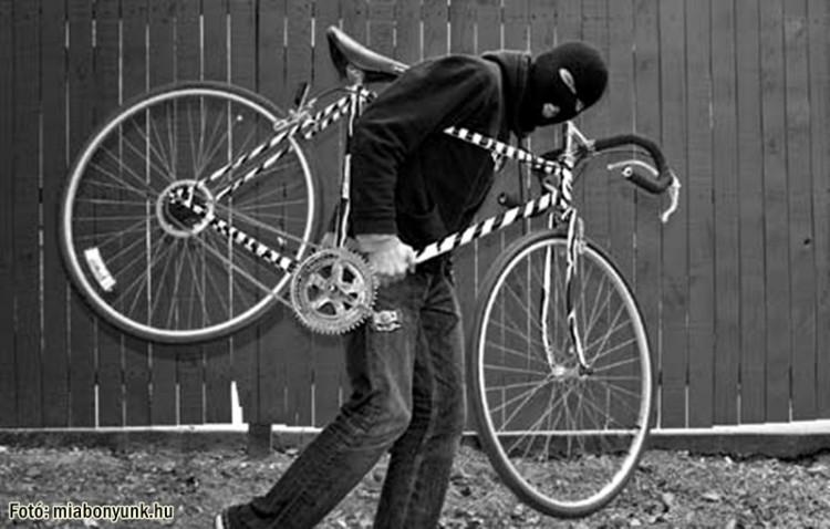Kerékpártolvajok akcióban