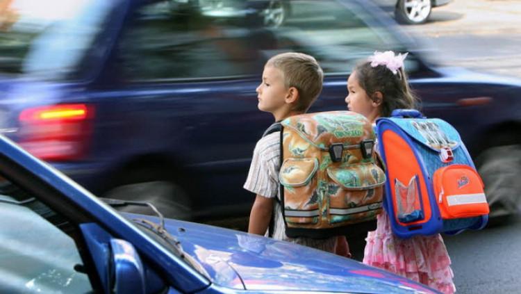 Gyerekek és a KRESZ