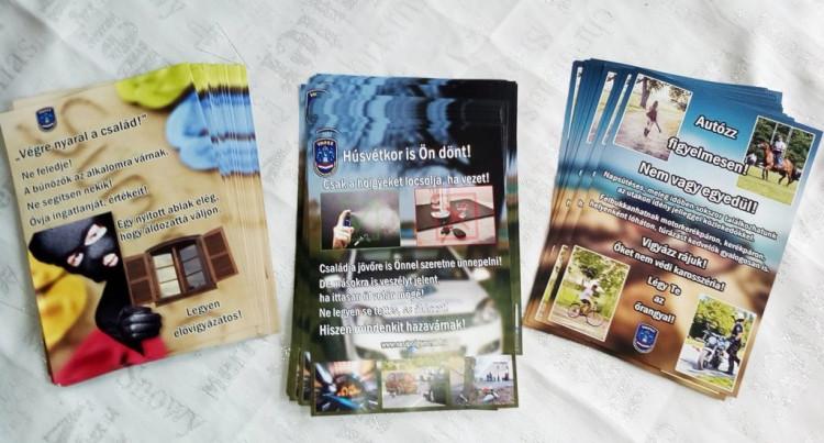 A Vas Megyei Polgárőr Szövetség Kommunikációs Csoportjának újabb gyümölcse érett be