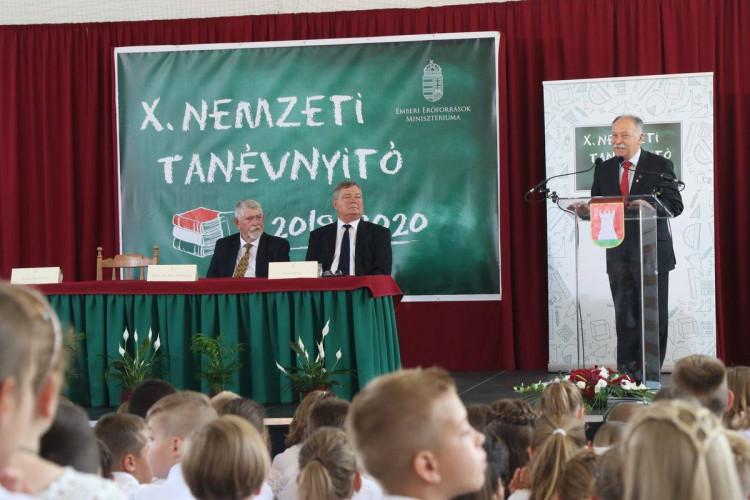 Sárvár Város Polgárőr Egyesülete a X.Nemzeti Tanévnyitón