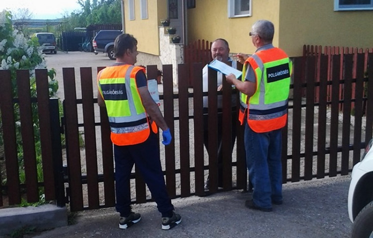 Csörötneki polgárőrök tevékenysége