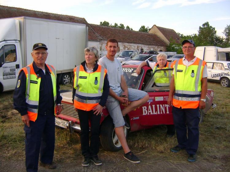 Autósport eseményen a vásárosmiskei polgárőrök