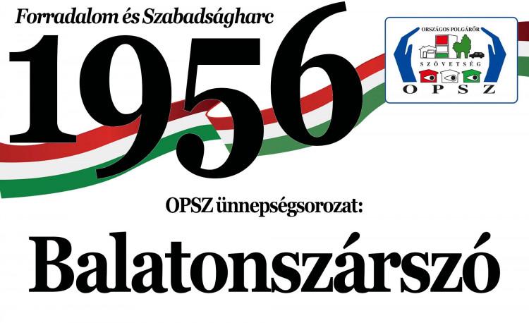 56-os megemlékezések - Balatonszárszó