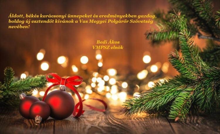 Kellemes karácsonyi ünnepeket és eredményekben gazdag,boldog új évet