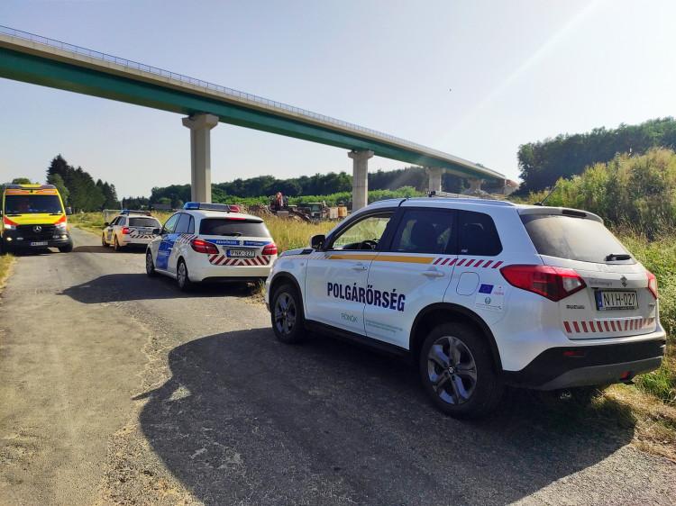 Eltűnt férfi felkutatását segítették a polgárőrök Rönökön