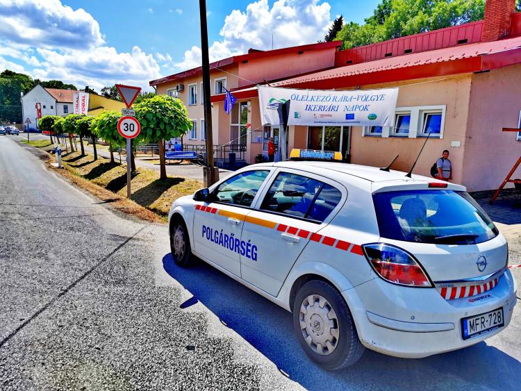 Polgárőr tevékenységek a Sárvári járásban