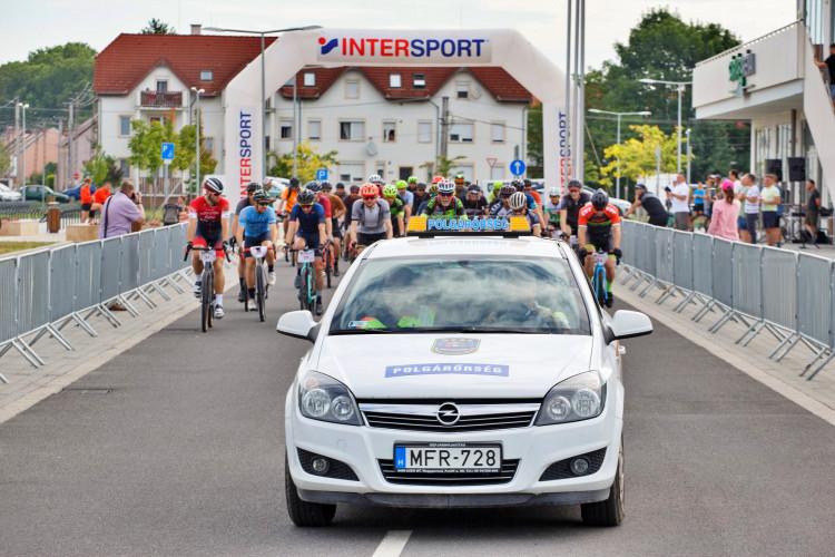 Kerékpáros versenyen vettek részt a vasi polgárőrök