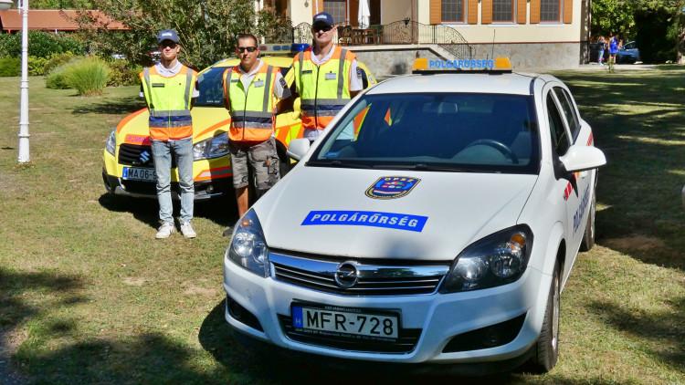 A Vas Megyei Mentők Napján segítettek a sárvári polgárőrök