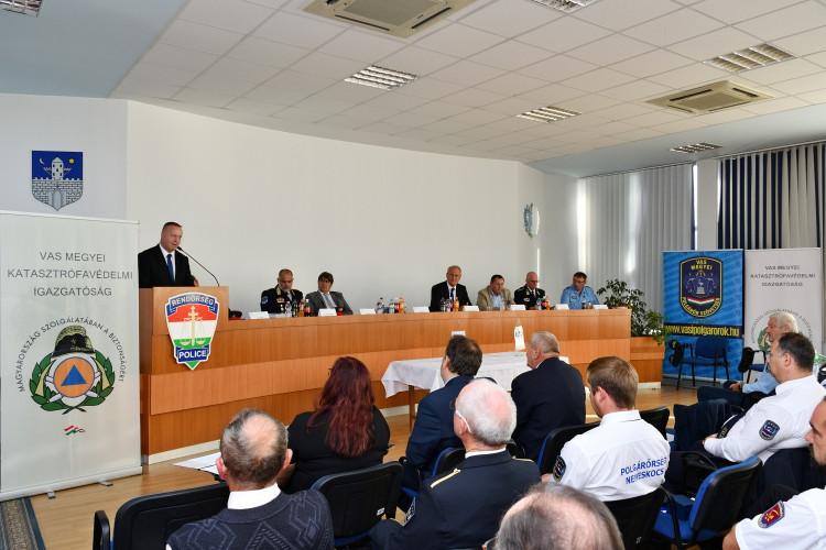 Vas Megyei Polgárőr Szövetség küldött Közgyűlés 2021